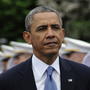 President Obama arrives to deliver the commencement address to the Military Academy at West Point on Wednesday. In a broad defense of his foreign policy, the president decla