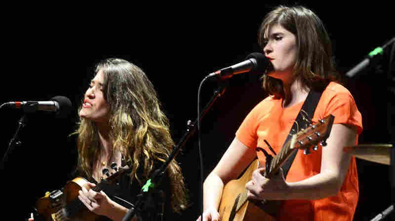 The Parkington Sisters perform on Mountain Stage