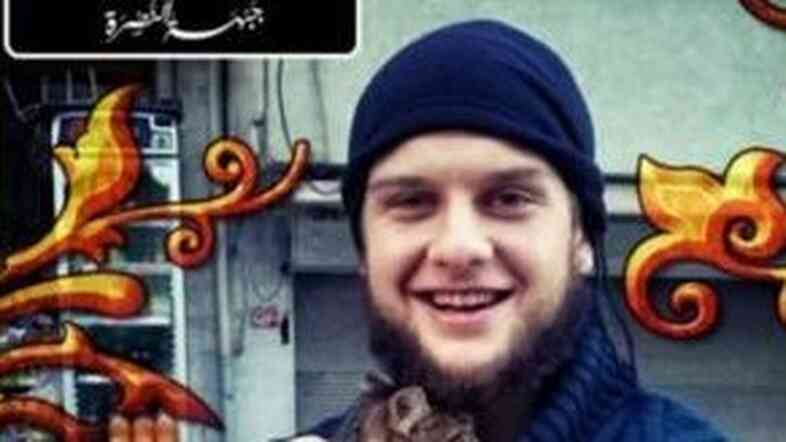 Photo reportedly of Abu Hurayra al-Amriki (Abu Hurayra the American), an American said to have participated in a recent suicide truck bombing in Syria.