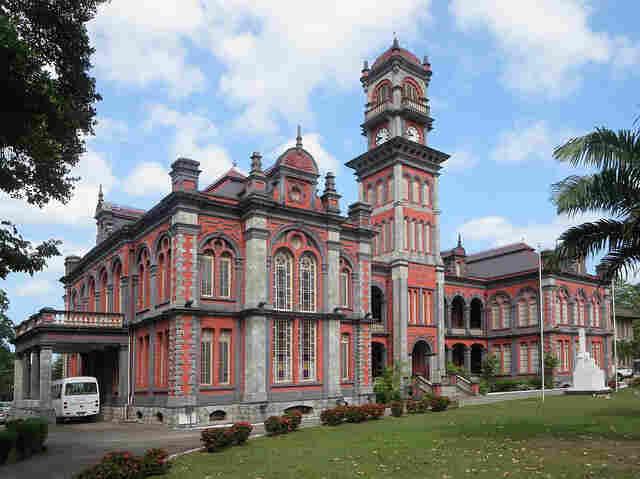 Queens Royal College, a historic secondary school in Port of Spain, Trinidad.