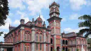 Queens Royal College, a historic secondary school in Port of Spain, Trinidad.