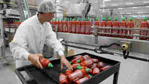 Sriracha chili sauce is produced at the Huy Fong Foods factory in Irwindale, Calif.
