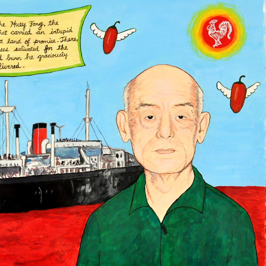 Audrey Chan's Proposal for a Mural Dedicated to David Tran.