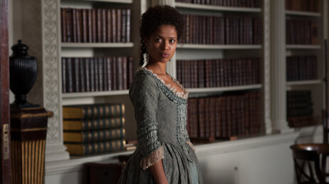 Gugu Mbatha-Raw as Dido Elizabeth Belle in Belle.