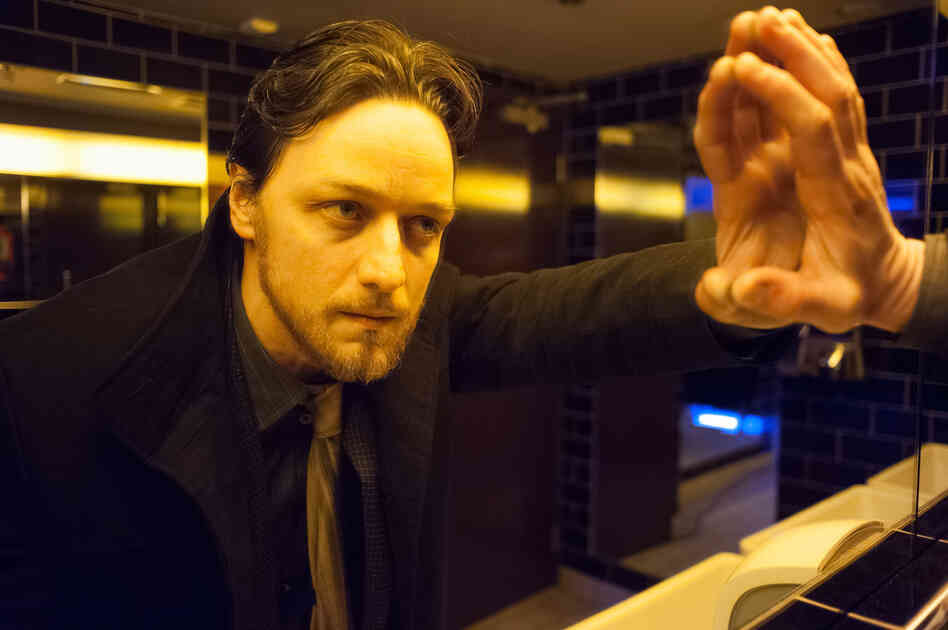Filth is based on a novel by Irvine Welsh — who also wrote the profane, drug-fueled epic Trainspotting. James McAvoy plays Detective Sergeant Bruce Robertson — a bipolar, bigoted, junkie cop — with enough foul-mouthed sleaze to be thoroughly off-putting.