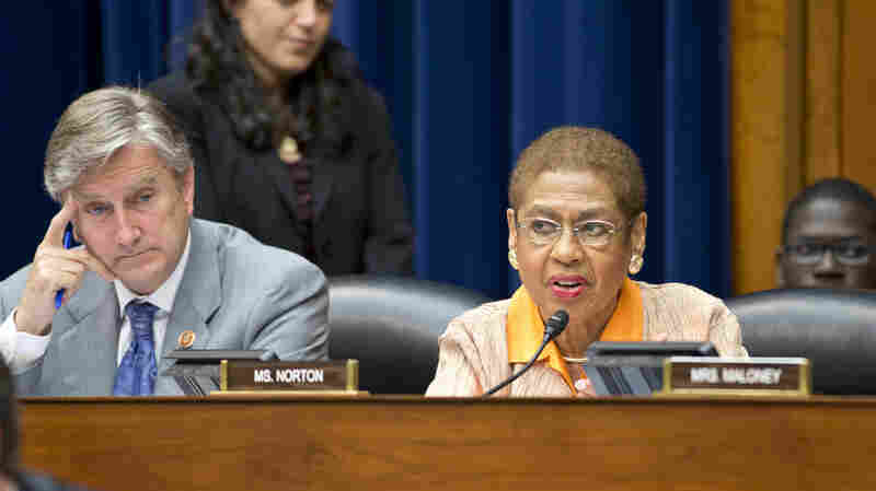 Massachusetts Rep. John Tierney, shown with D.C. Del. Eleanor Holmes Norton during a June 2013 hearing, is a blue-state Democrat who could be in a tight re-election race.