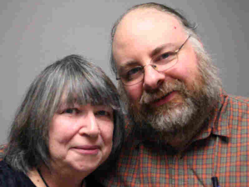 On a visit to StoryCorps, Storm Reyes told her son, Jeremy Hagquist, about growing up as a farm laborer. Reyes eventually went to night school and worked in a library for more than 30 years.