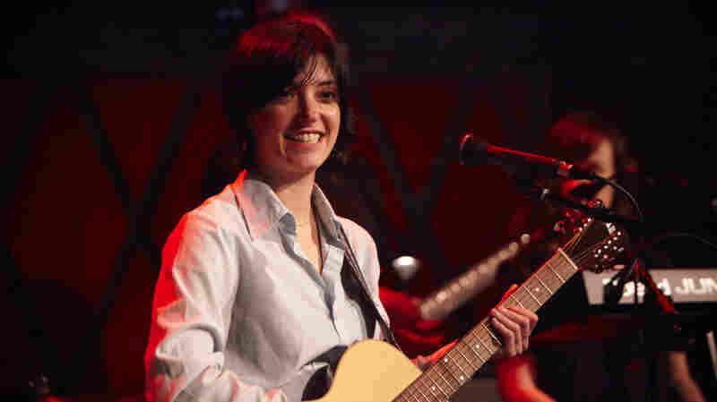Sharon Van Etten plays a special show at Rockwood Music Hall in New York City.