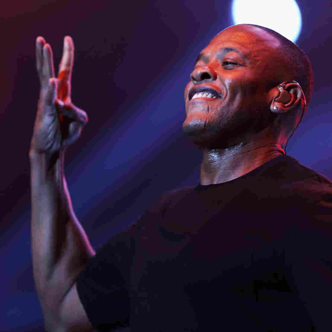 Rapper Dr. Dre is an executive at Apple, now.