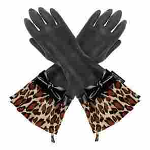 Latex dishwashing gloves from Gloveables.