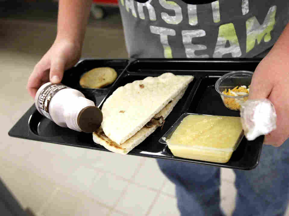 "Currently, half of all products served in the school lunch program must be ""whole-grain rich,"" which USDA defines as products made of at least 50 percent whole grain. According to the new standards, by the start of the next school year, schools must use only products that are whole-grain rich."