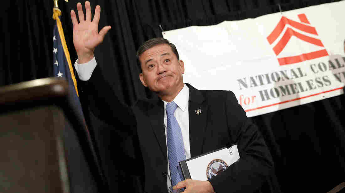 Eric Shinseki resigned as the head of the Department of Veterans Affairs on Friday, in what President Obama said was a decision spurred by a desire to not distract from efforts to fix the agency's problems. Earlier Friday, Shinseki spoke at a conference in Washington.