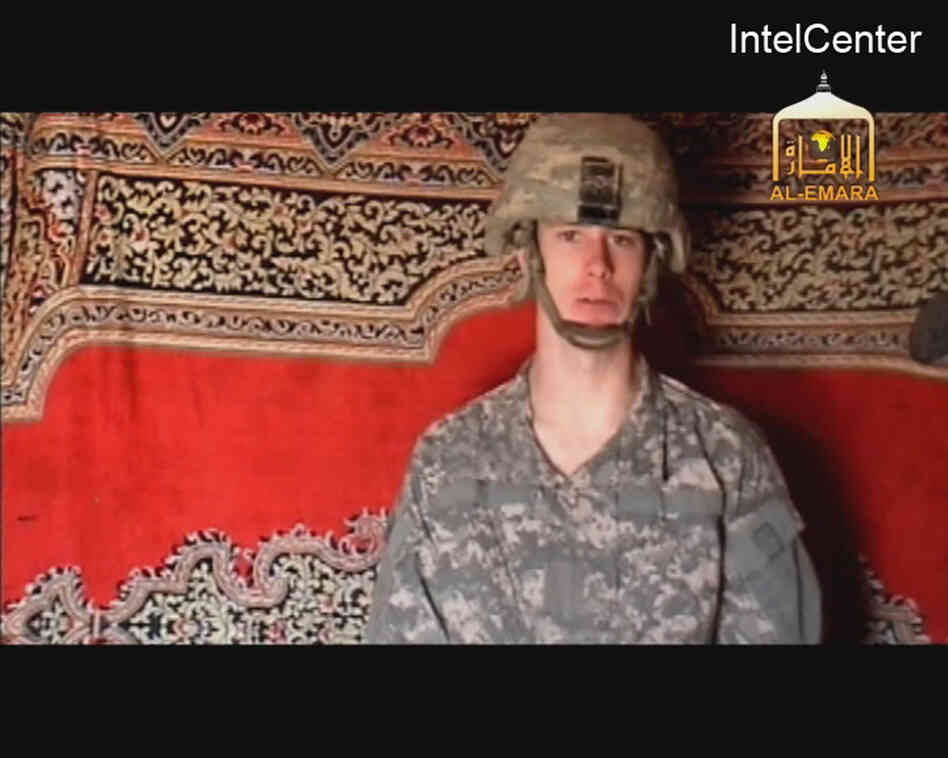 An image from a Taliban propaganda video released on Dec. 25, 2009, purportedly shows U.S. Army Sgt. Bowe Bergdahl.