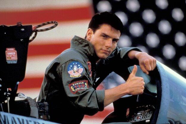 "Tom Cruise played ""Maverick"" in the 1986 movie Top Gun."