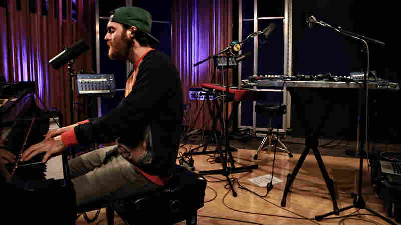 Chet Faker performs live on KCRW.