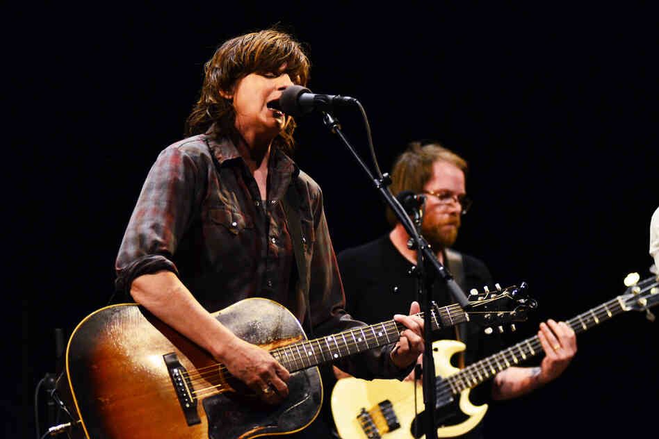 Amy Ray performs on Mountain Stage.