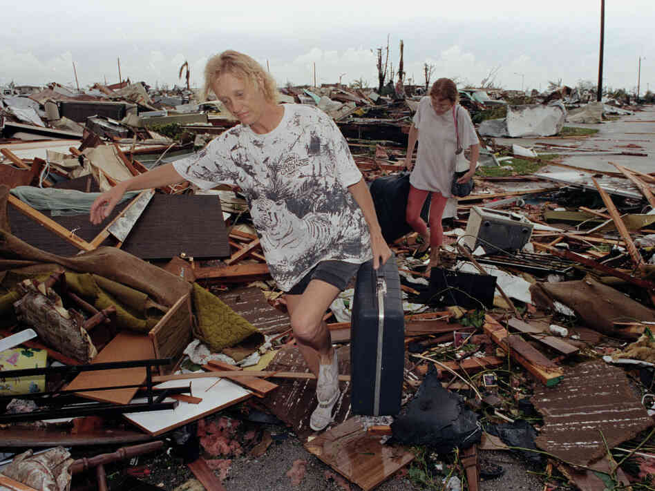 "In 1992, Hurricane Andrew destroyed more than 25,000 homes in Florida. But its death toll was far less than ""female&quot"