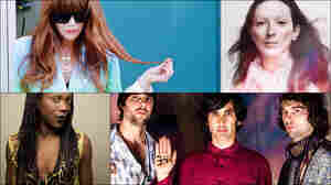 Clockwise from upper left: Jenny Lewis, My Brightest Diamond, Elephant Stone, Shinedoe.