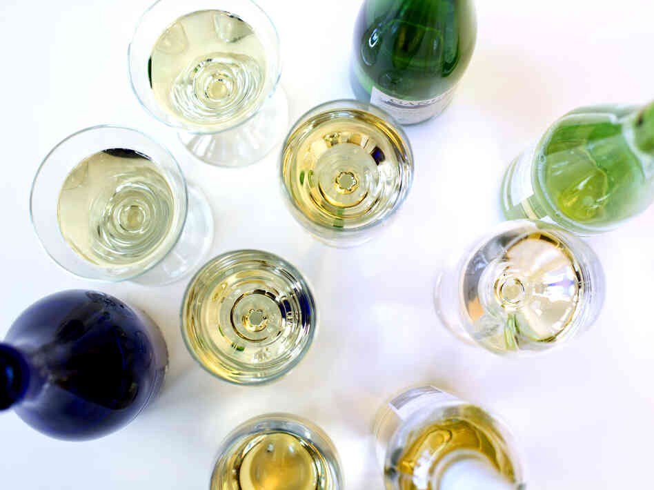A selection of low-alcohol wines, including a Riesling from Germany, a Vinho Verde from Portugal and a Txakoli from the Basque region of Spain.