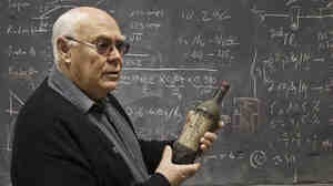 "French physicist Philippe Hubert uses gamma rays to detect radioactivity in wine. ""In the wine is the story of the Atomic Age,"" he says."