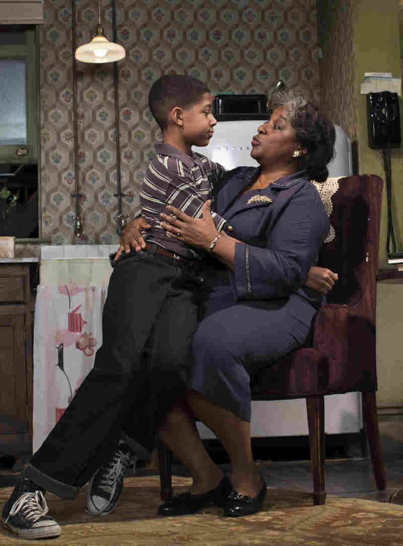 "LaTanya Richardson Jackson has been nominated for a Tony for her role as Lena, family matriarch to such characters as Travis Younger, played by Bryce Clyde Jenkins. The play ""has truly been the highlight of my theatrical career,"" she says."