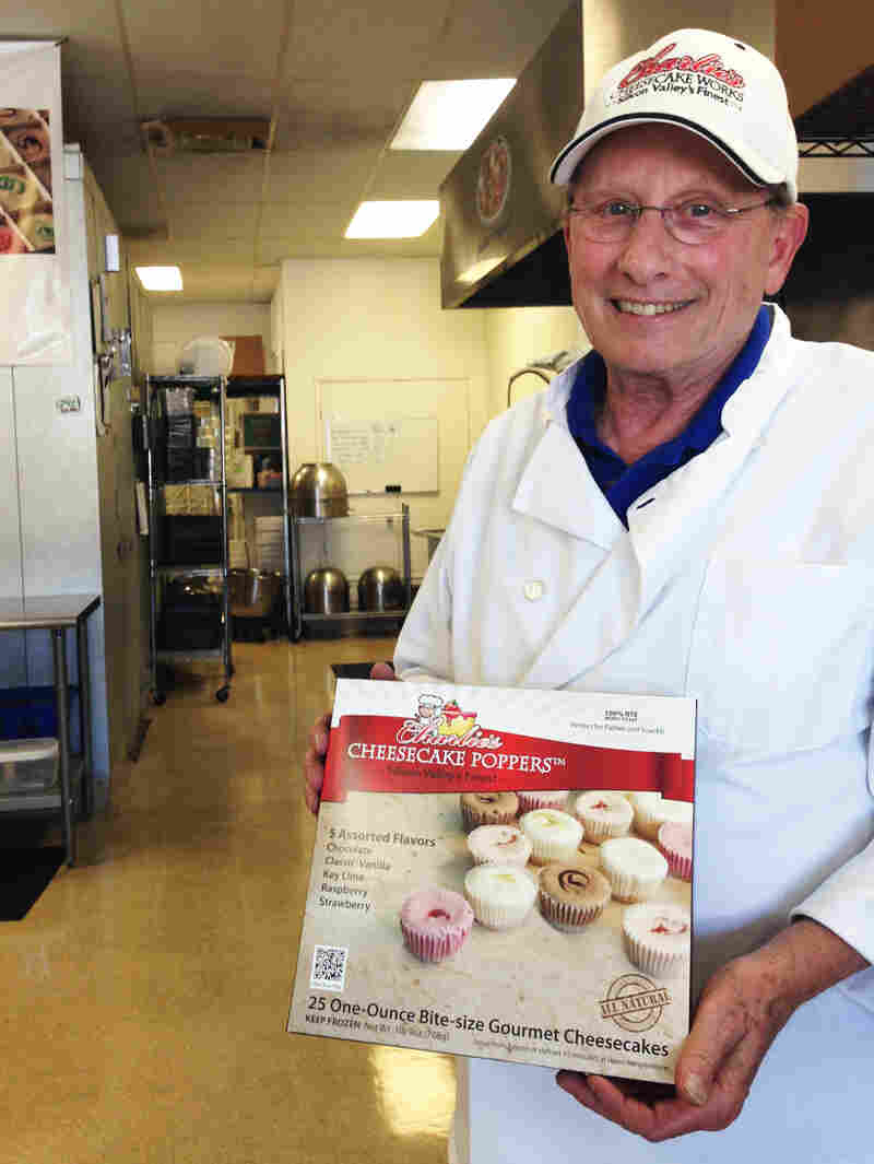 Charlie Major, owner of Charlie's Cheesecake Works in San Jose., Calif., raised prices slightly when the city increased the minimum wage. He says he saw a 7 percent drop in retail sales after the increase.