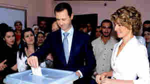 Syrians Head To Polls In An Election Expected To Go To Assad