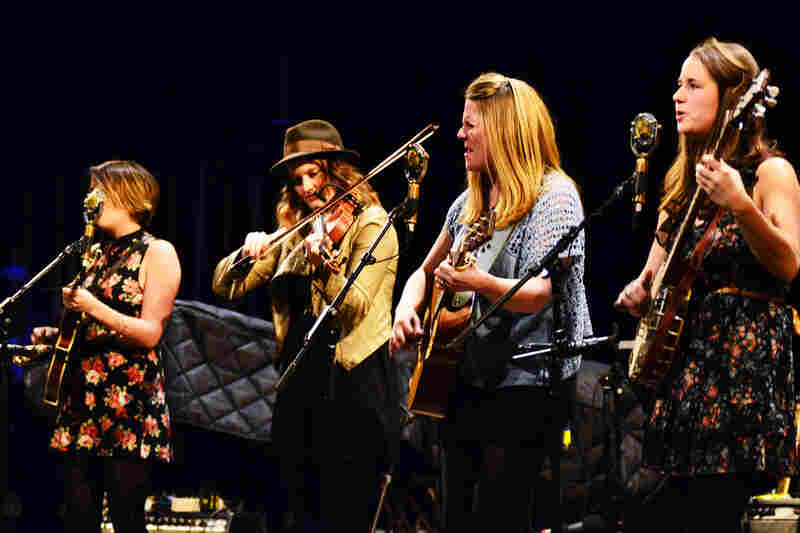 Della Mae on Mountain Stage.