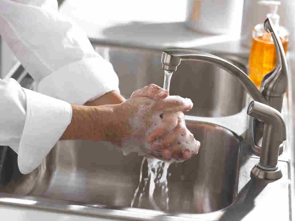 The CDC says the food service industry could prevent transmission of norovirus by enforcing hand-washing.