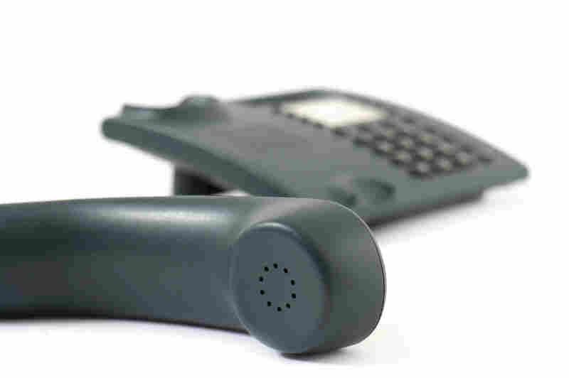 An office phone