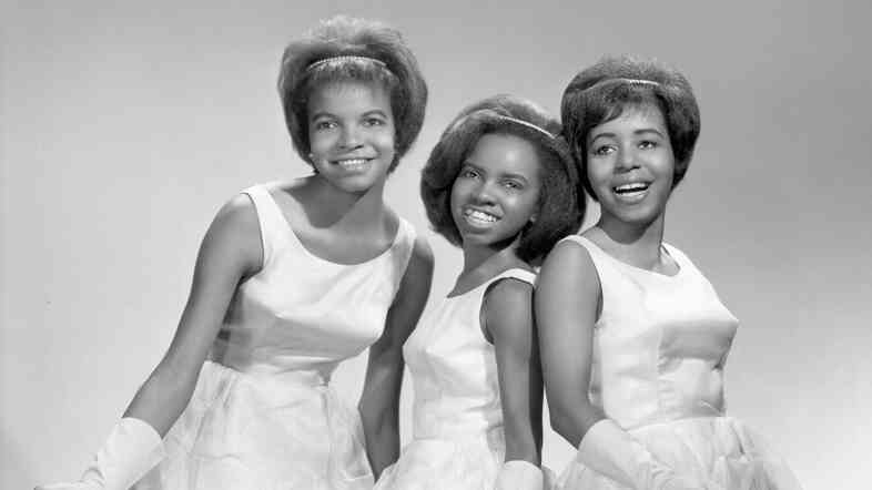 """The Dixie Cups in New York City in 1964, the year the group's song """"Chapel of Love"""" hit No. 1 on the charts."""