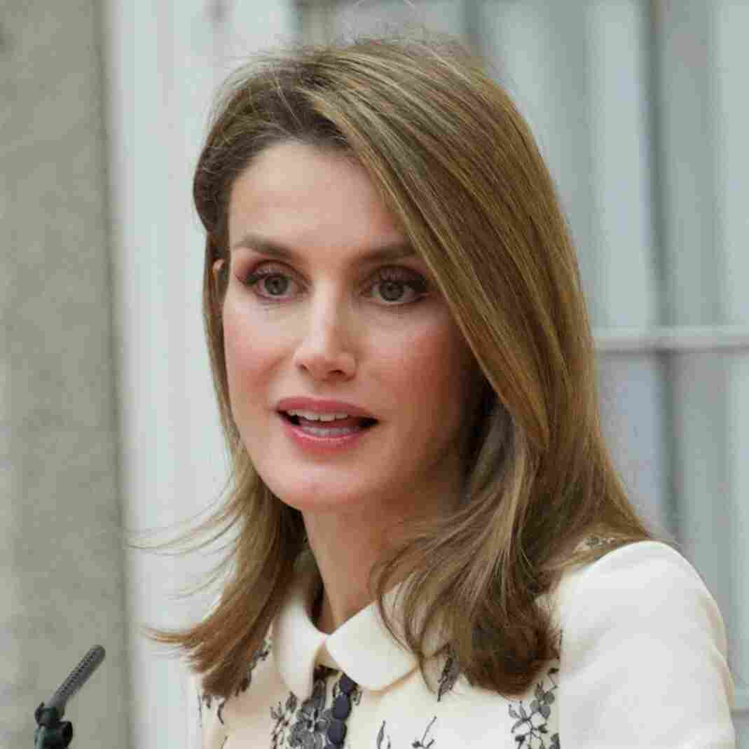Princess Letizia of Spain, who is soon to become the queen, attends an arts ceremony in Madrid in December. The Spanish monarchy's approval rating is at an all-time low, but she is considered popular and often appears on the cover of fashion magazines.