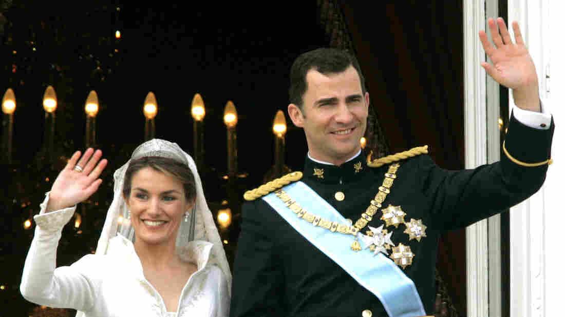 Letizia and Felipe married in Madrid in 2004.