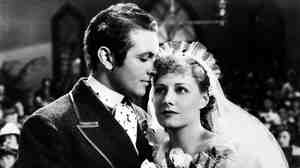Allan Jones plays debonair leading man Gaylord Ravenal and Irene Dunne is the enchanting Magnolia in the 1936 film version of Show Boat, which has just been released on DVD.