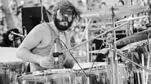 Led Zeppelin's John Bonham performs in San Francisco in 1973.