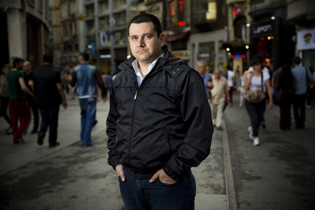 Aboud Dandachi is a Syrian blogger and opposition activist who now lives in Istanbul. He's the author The Doctor, The Eye Doctor and Me, a book that draws parallels and analogies between the Syrian conflict and the British TV show Doctor Who.