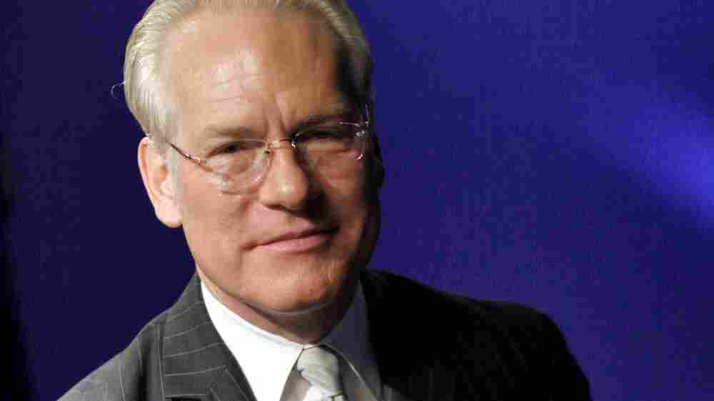 Tim Gunn, host and mentor of the Lifetime cable television show Project Runway, poses for photos during an interview in New York.