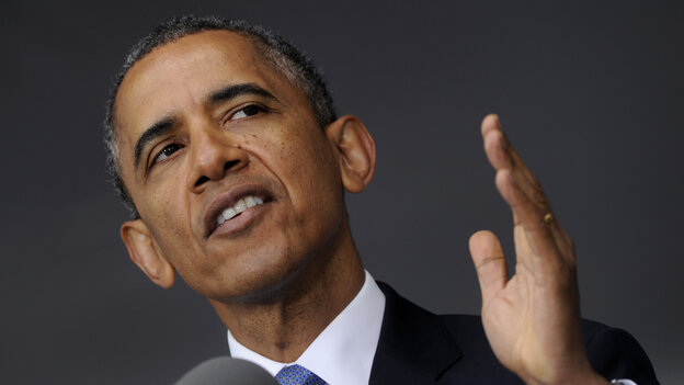 President Obama delivers the commencement address to the U.S. Military Academy at West Point on May 28. The president has employed U.S. military force much more sparingly in his second term than his first.
