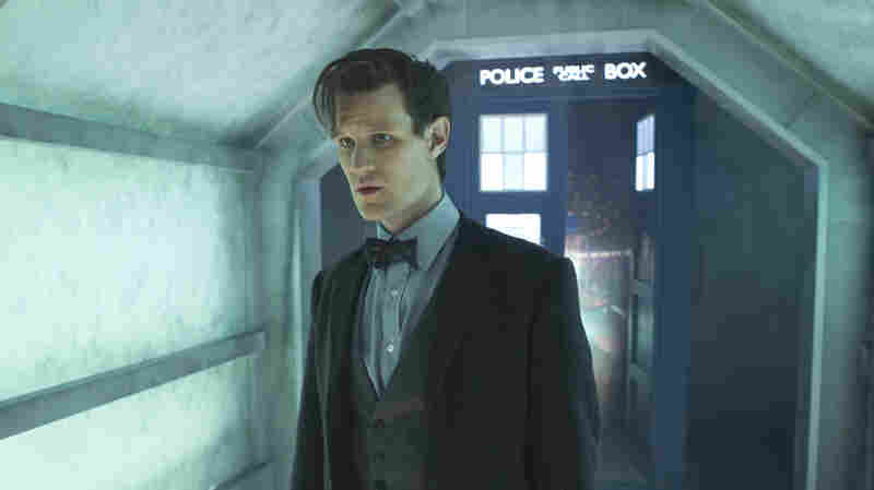 Syrian activist Dandachi found solace, and lessons, in Doctor Who (the title role portrayed here, in his 11th incarnation, by English actor Matt Smith).