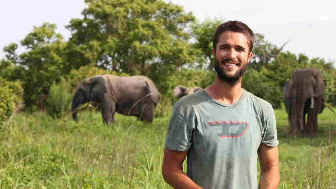 Nick Stadlberger in Africa.