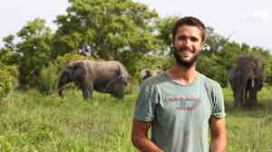 Nick Stadlberger in Africa.