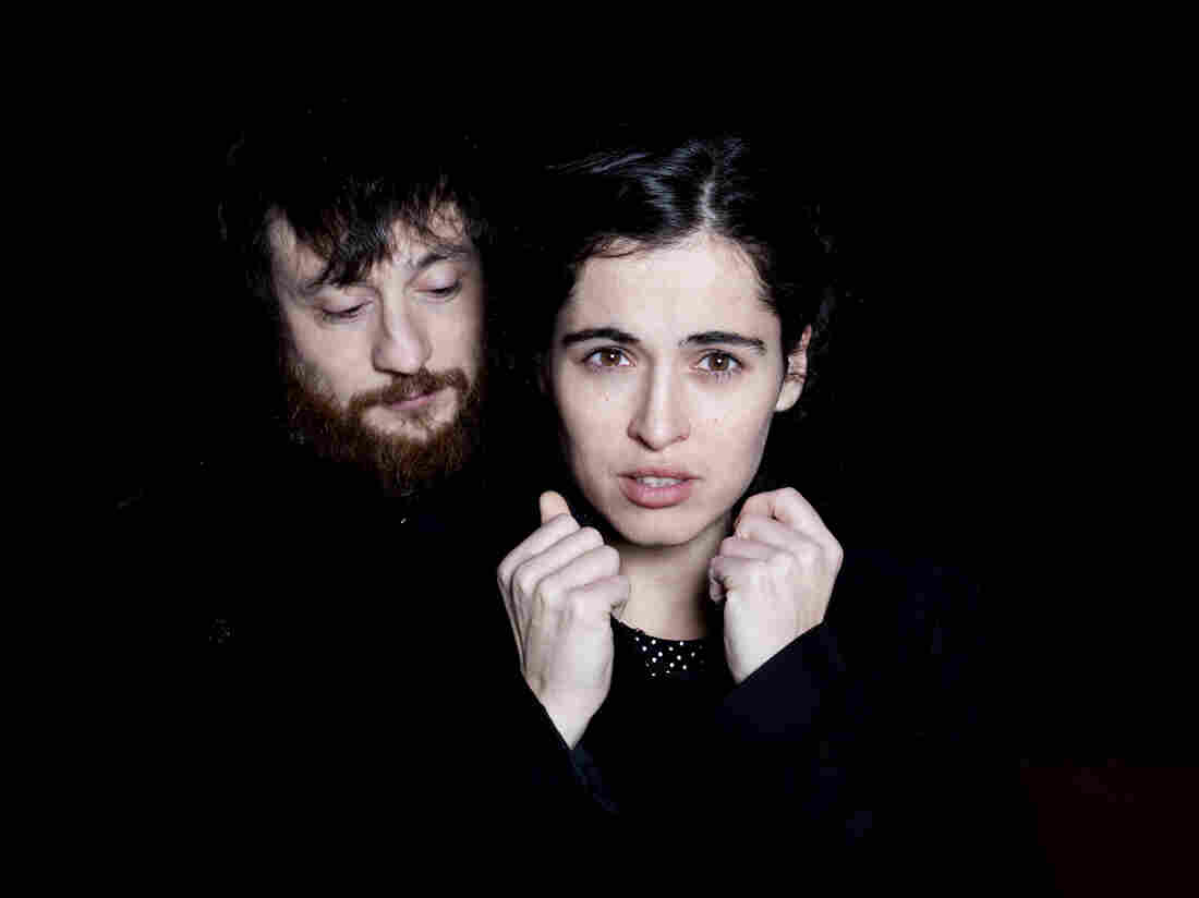 """""""She has like a complete vision of music,"""" Fernandez Miró (left) says of Silvia Perez Cruz. """"She's not thinking just about vocals, about the voice. She's thinking about everything."""""""