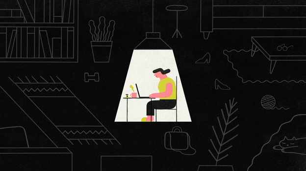 The stress of adult life can make living with undiagnosed ADHD very difficult, doctors say. (Jing Wei for NPR)