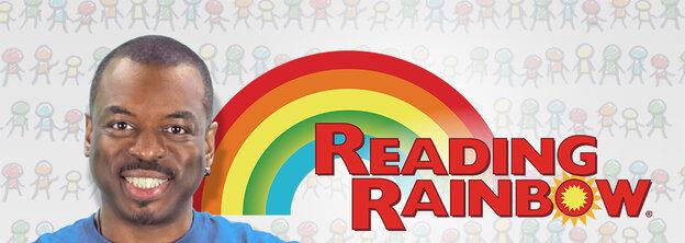 LeVar Burton, the face of Reading Rainbow.