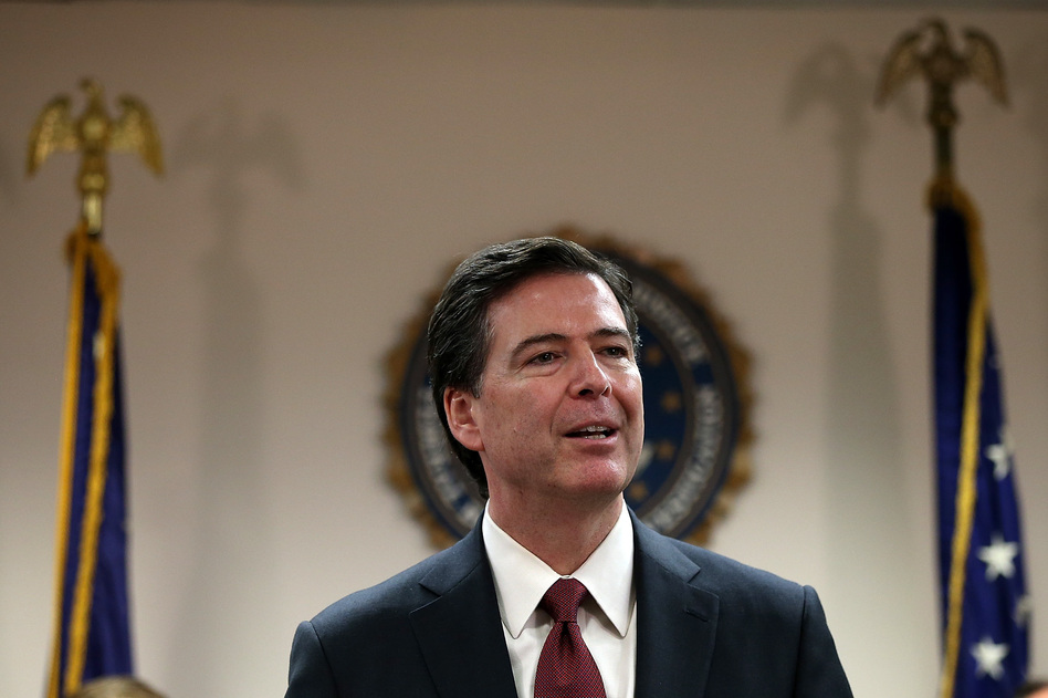 FBI director James Comey wants the agency to get better at preventing crimes and improve diversity. He has another nine years and three months to do that. (Justin Sullivan/Getty Images)