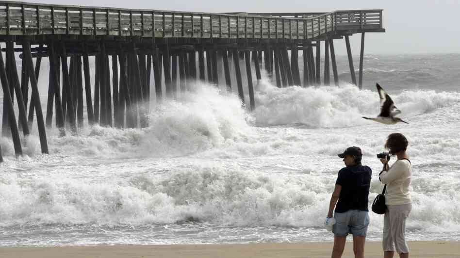 How coal industry jobs coexist with rising sea levels in for Surf fishing virginia beach