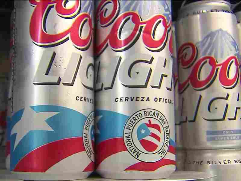 The Coors Light can created to celebrate last year's National Puerto Rican Day parade sparked controversy over its logo.