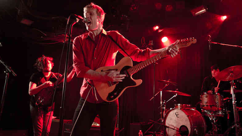"Spoon, performing ""Rent I Pay,"" live from Le Poisson Rouge in New York City."