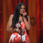 Audra McDonald won her record sixth Tony for her portrayal of Billie Holiday in Lady Day at Emerson's Bar & Grill.