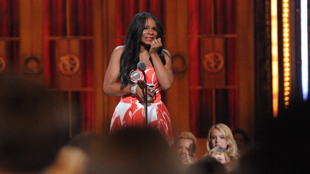 Audra McDonald won her record sixth Tony for her portrayal of Billie Holiday in Lady Day at Emerson's Bar and Grill.